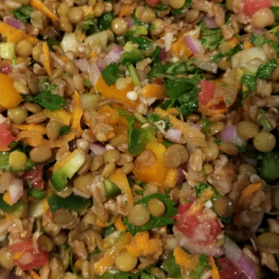 Refreshing Lentil Salad