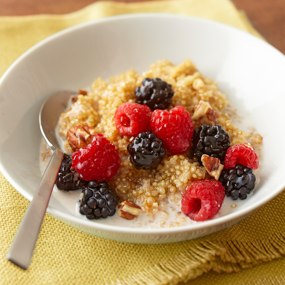 Fruit & Nut Quinoa Diabetic Living Magazine