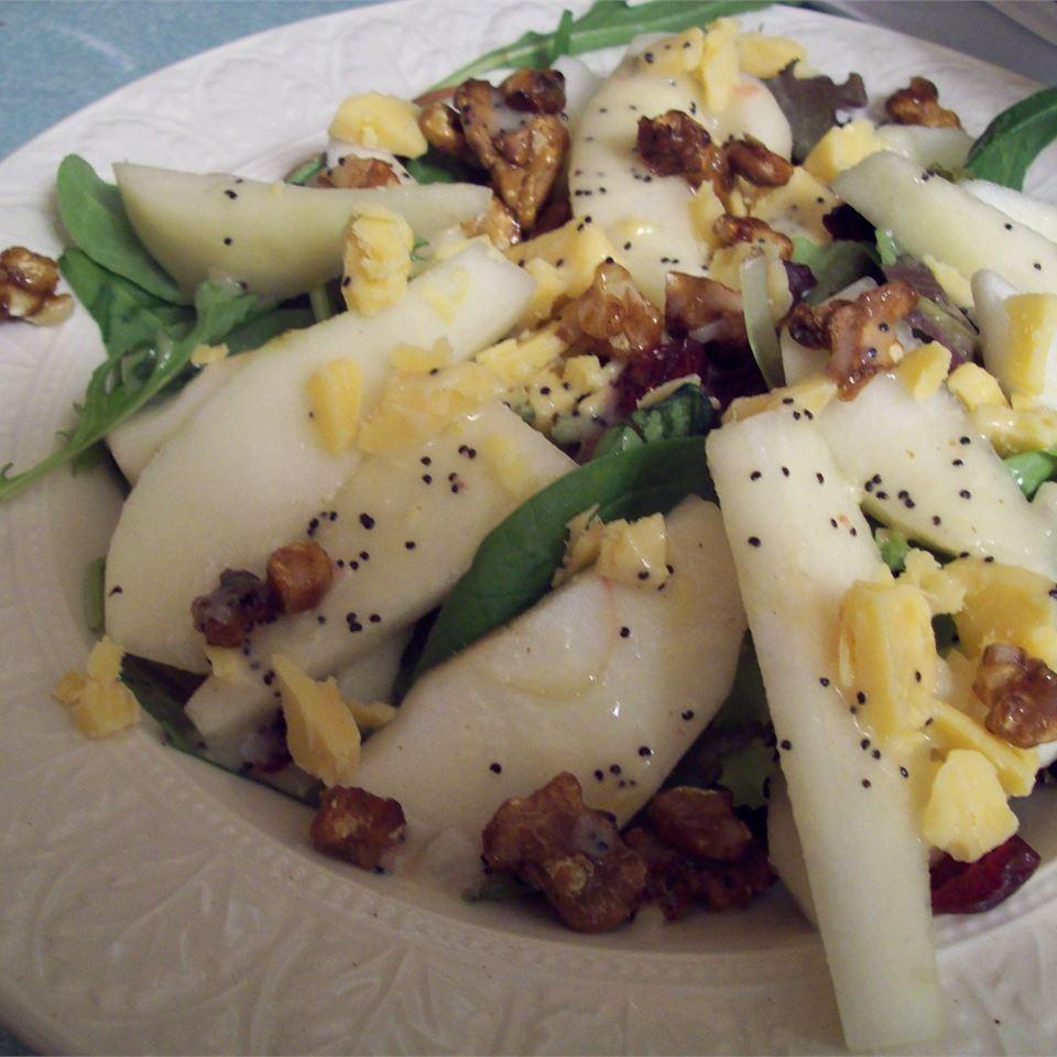 Winter Fruit Salad with Lemon Poppyseed Dressing Heather