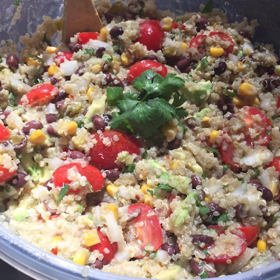 Zesty Quinoa Salad Taylor Cain