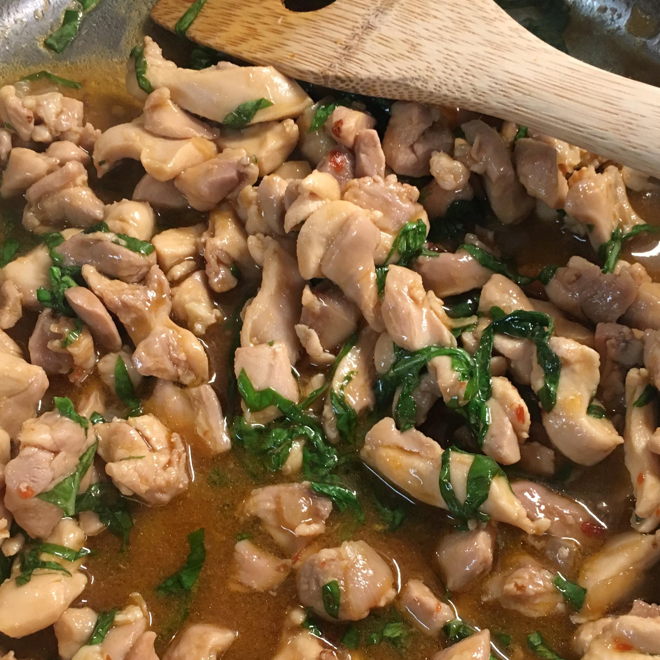 Spicy Thai Basil Chicken (Pad Krapow Gai) Carol In SA