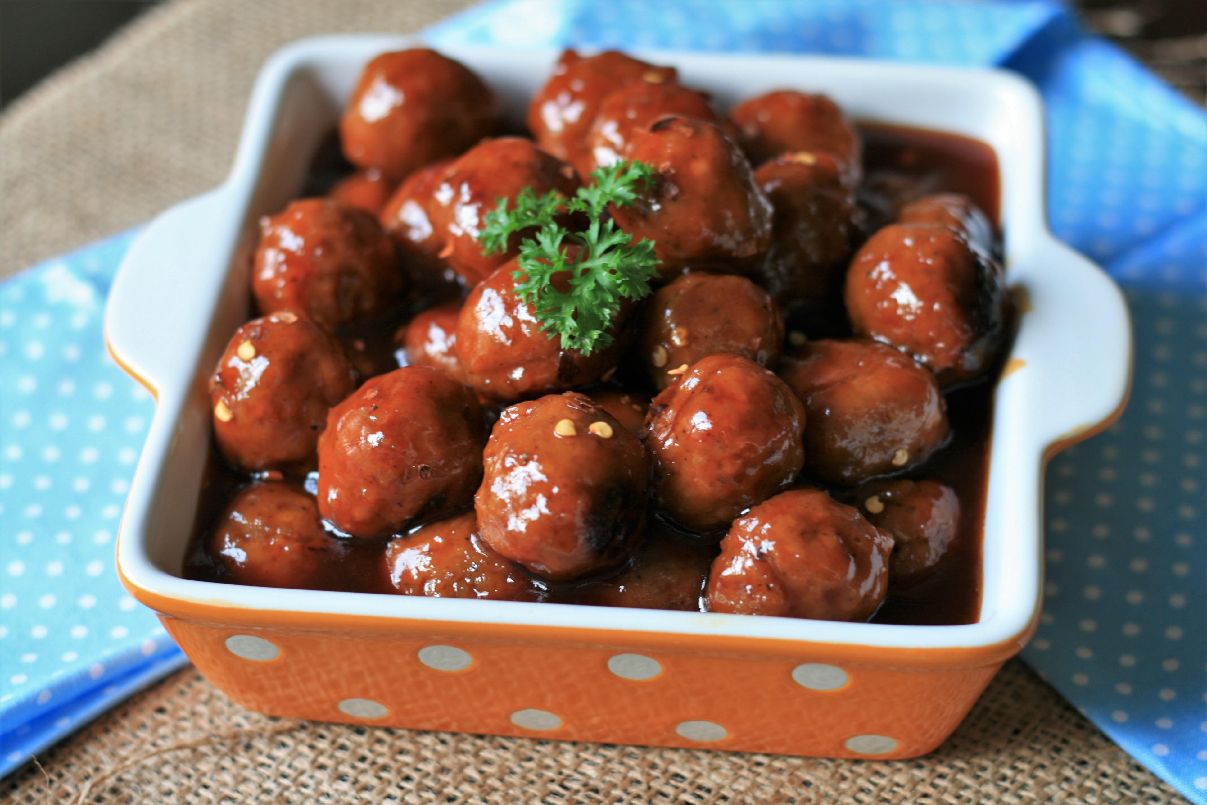 Easy Instant Pot® Cocktail Meatballs