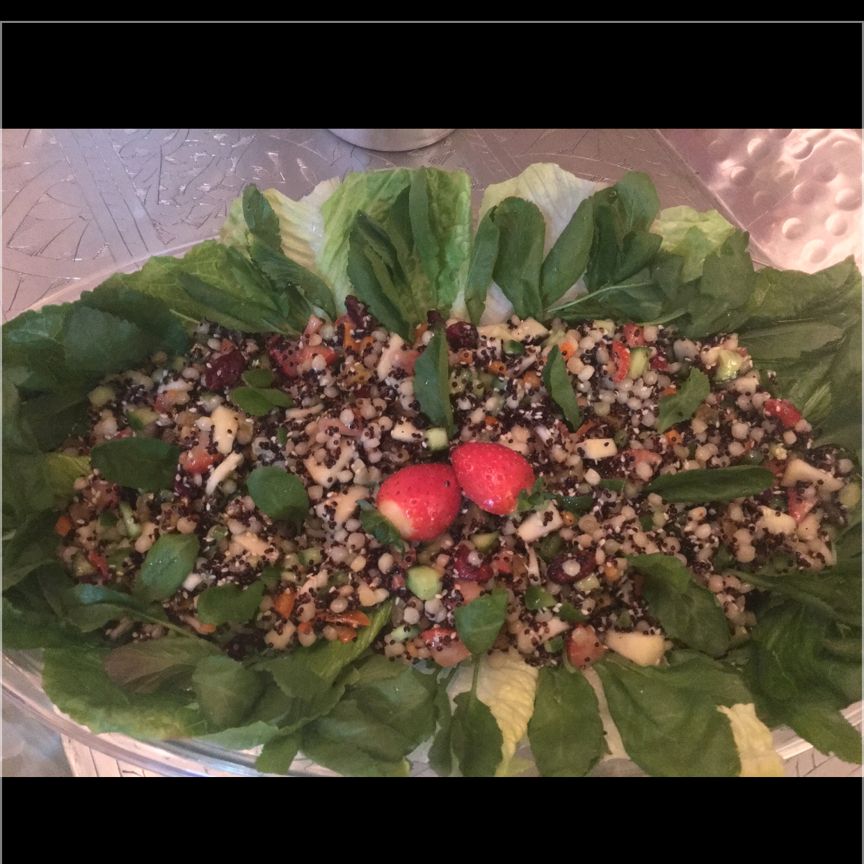Pearl Couscous Salad Mojdeh Zangeneh-amirchoupani