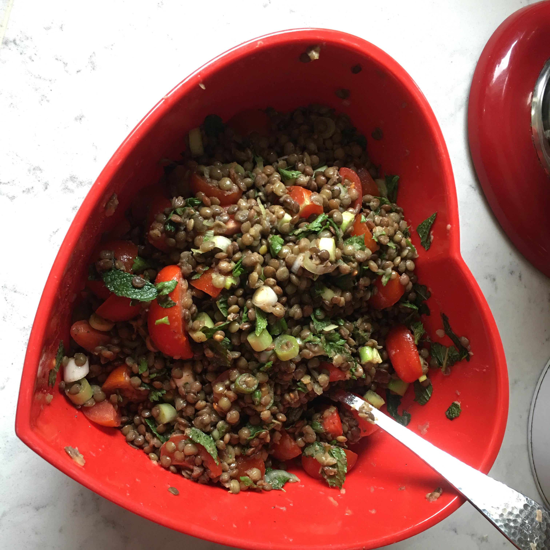 Cold Lentil Salad HethRaa