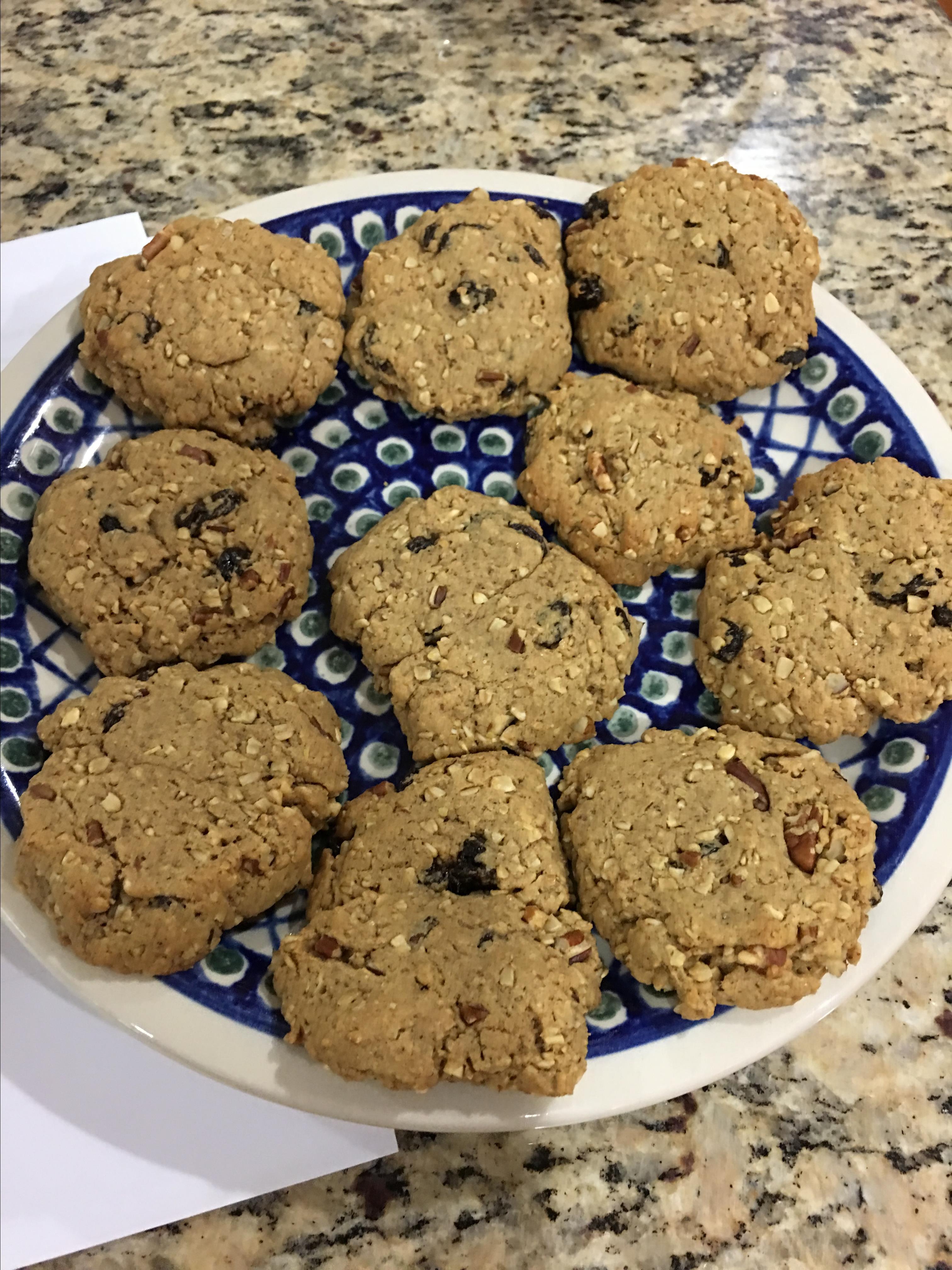 Hearty Breakfast Cookies Julia Cunningham