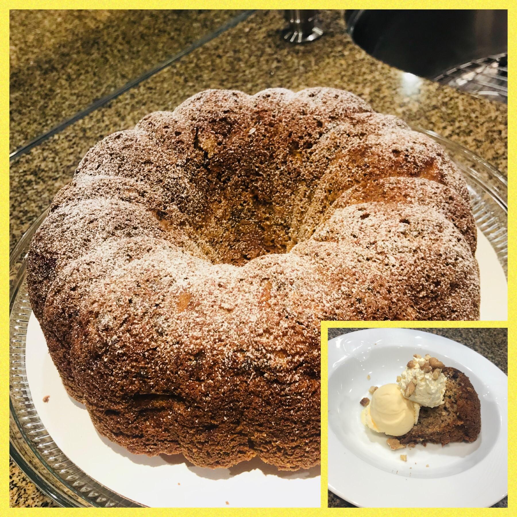 Wonderful Banana Cake Danial