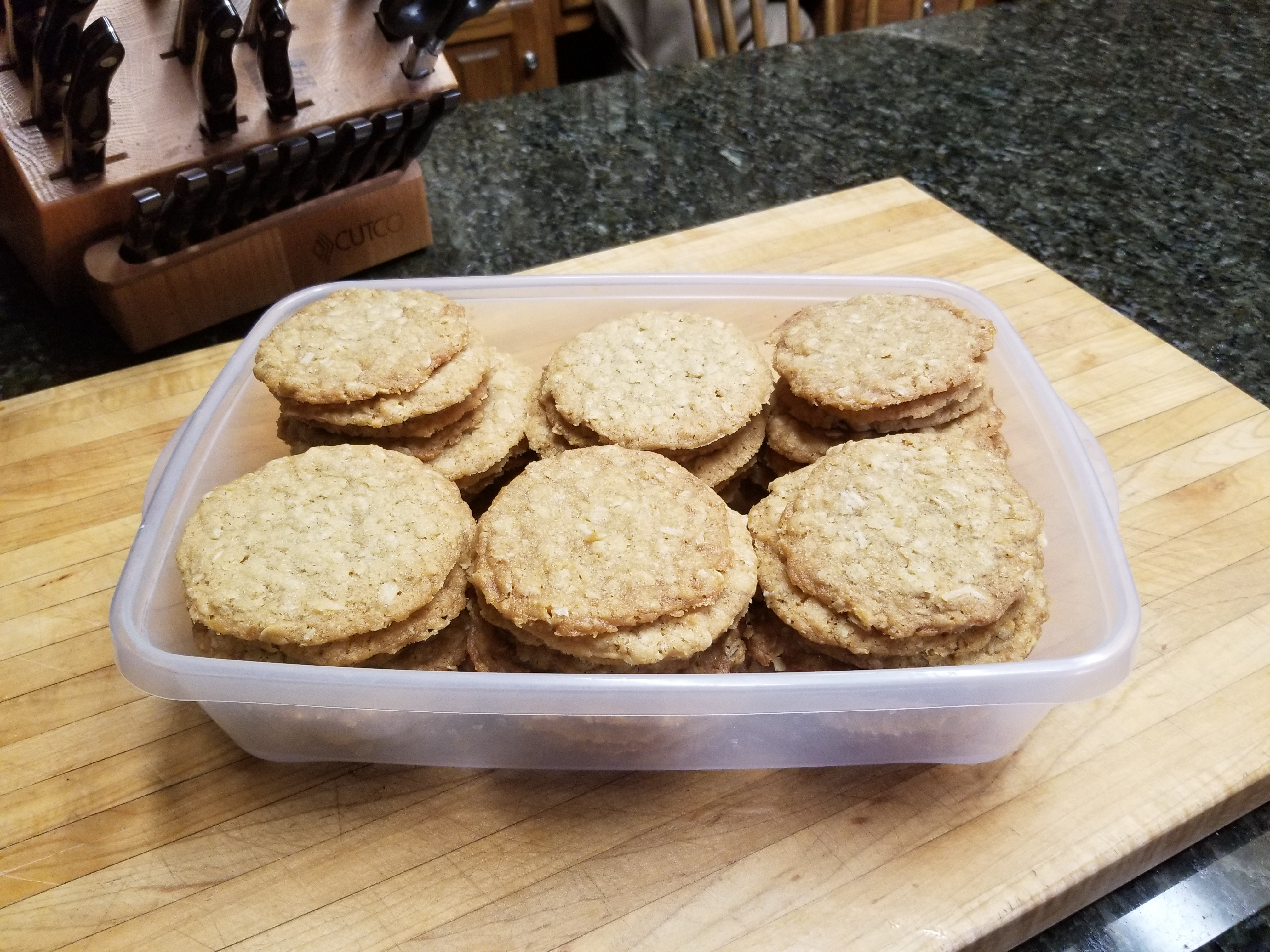 Aggression ( Oatmeal ) Cookies Jodie Bruner-Rea