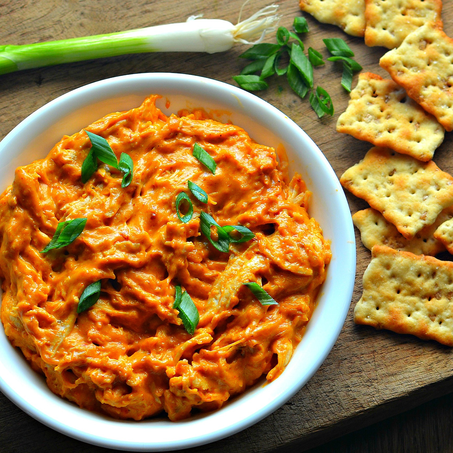 Instant Pot® No-Stress Buffalo Chicken Dip