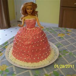 Barbie Doll Cake Loves2Bake