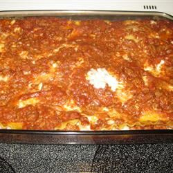 Mom's Lasagna clessard