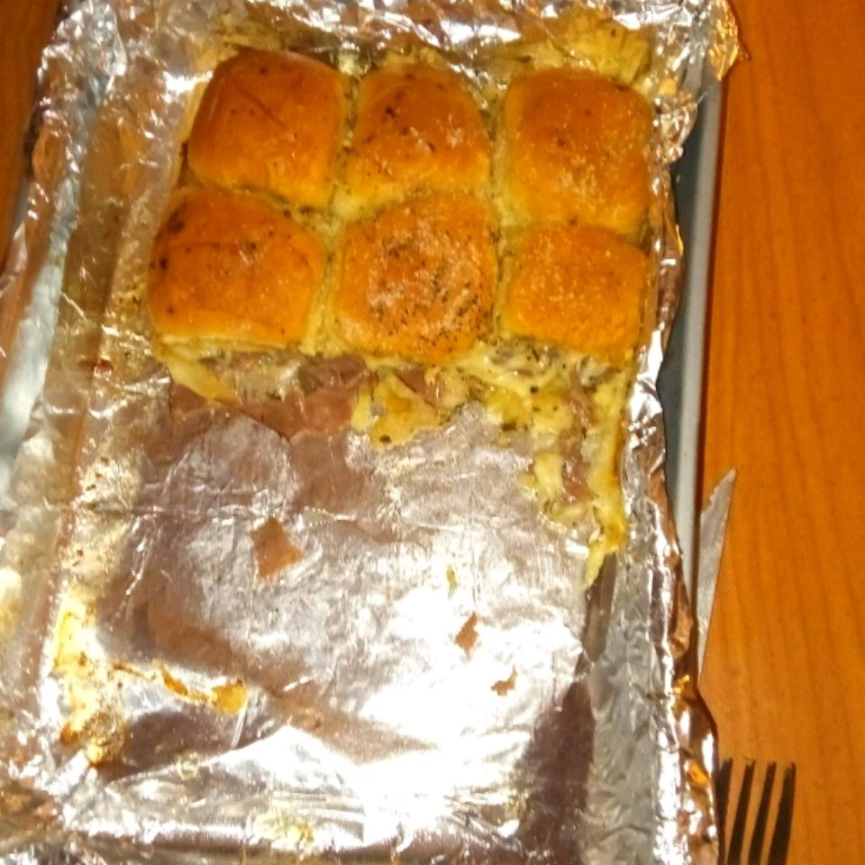 Hawaiian Roll Roast Beef and Cheese Sandwiches Alison Eland