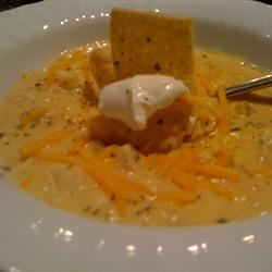 Mexican Chicken Corn Chowder thedailygourmet