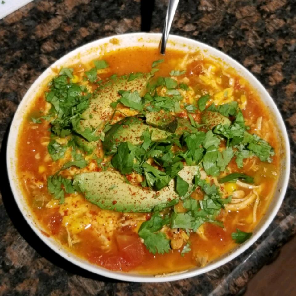 The World's Best Tortilla Soup