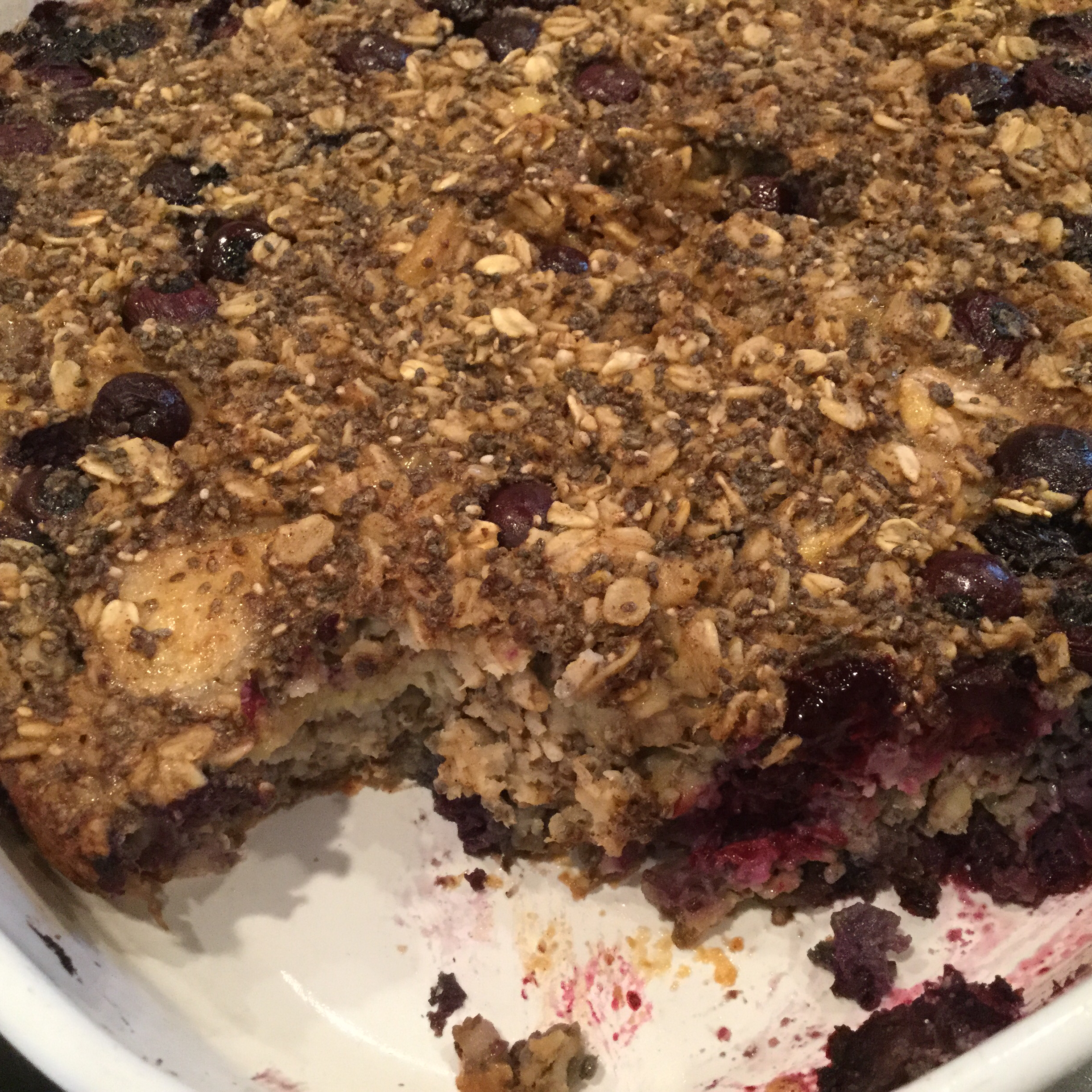 Blueberry Oatmeal Breakfast Bars Becky Pumphrey Hannahs