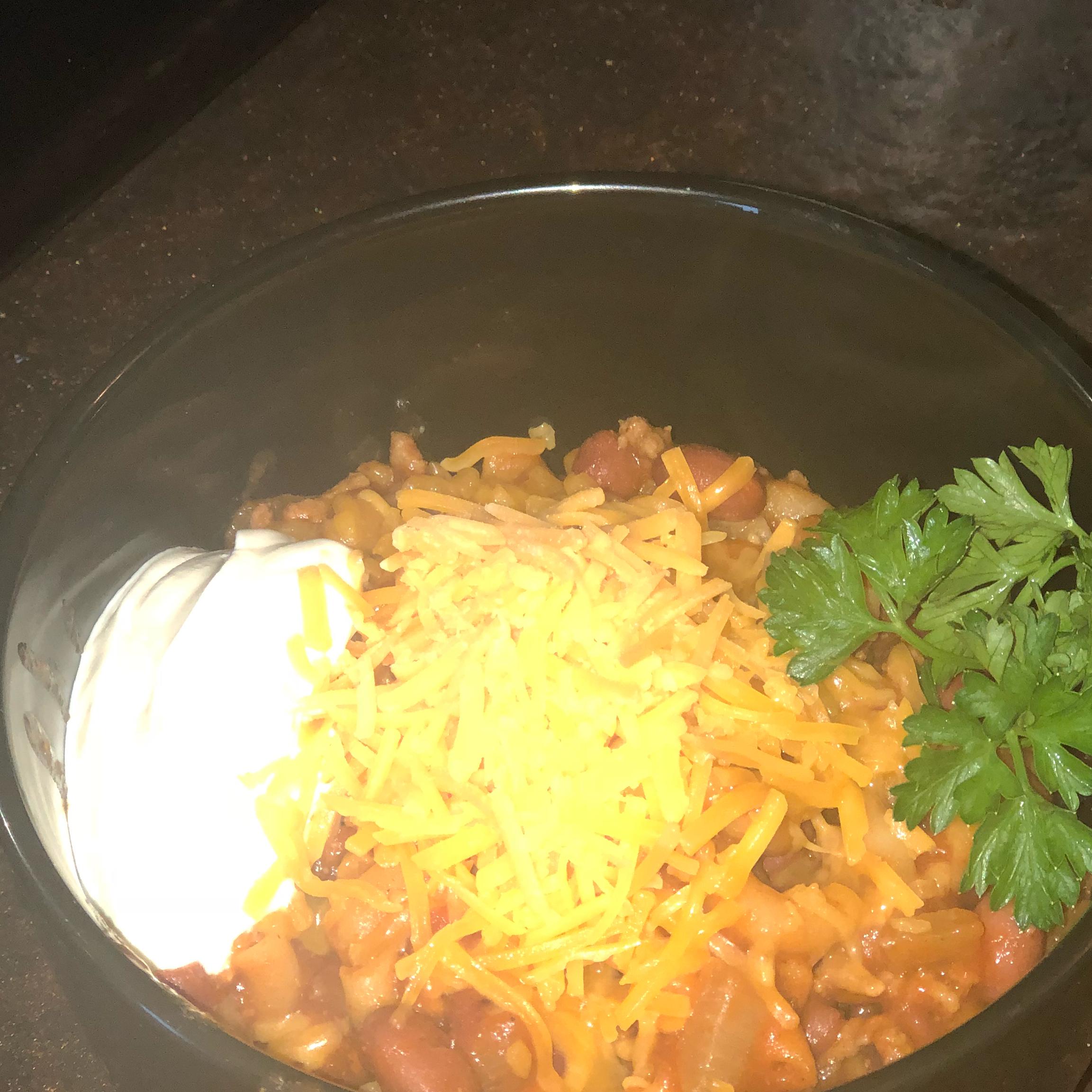 One-Pot Chili Mac and Cheese NeCosia Chestnut