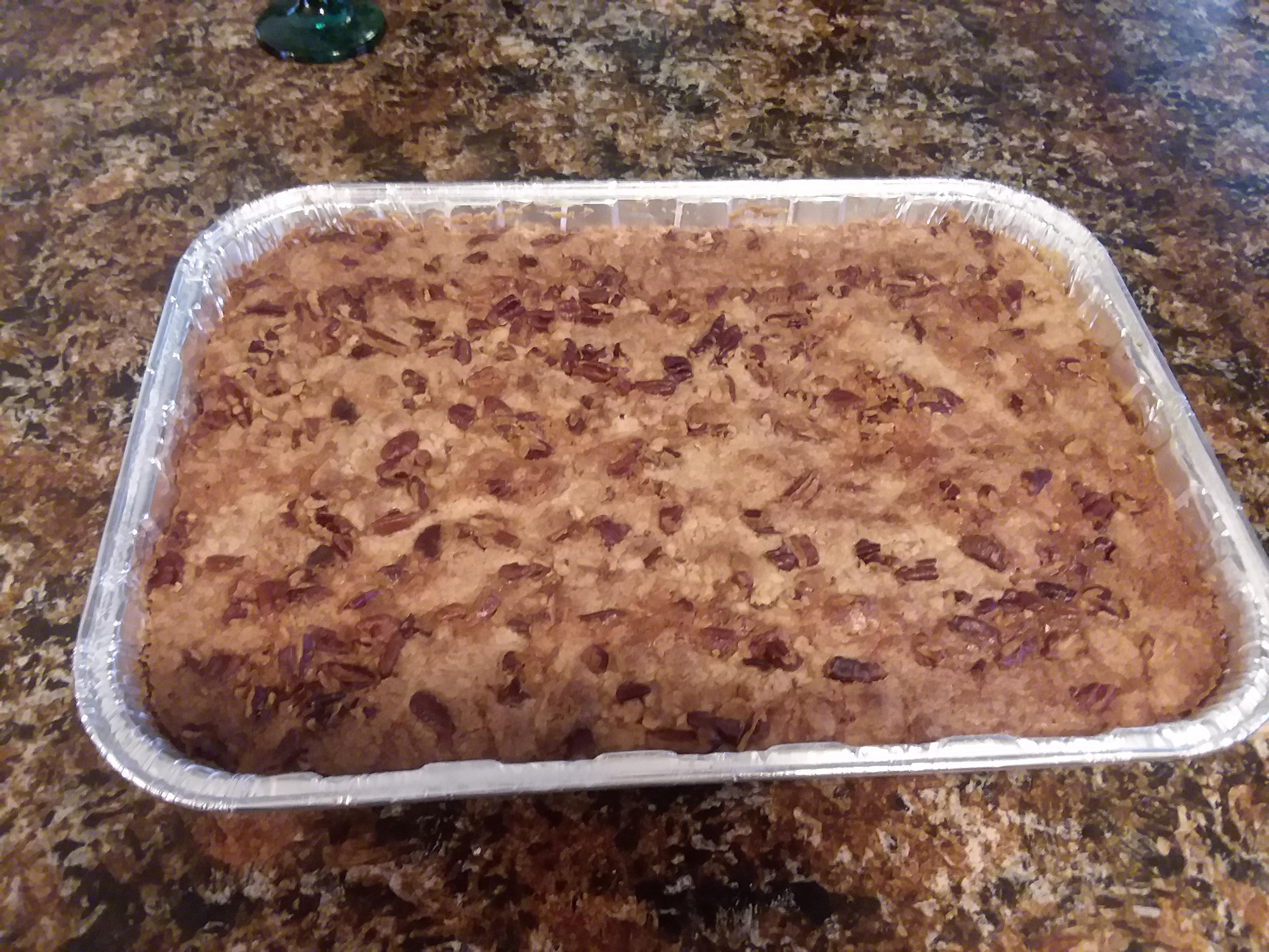 Pumpkin Dump Cake Catherine M Lane-Miller
