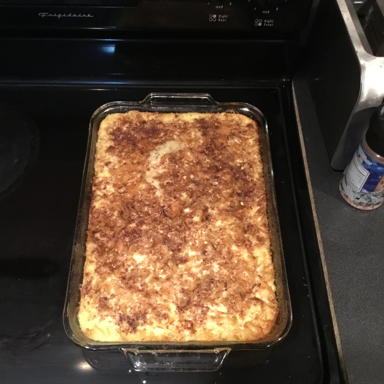 Cinnamon Noodle Kugel J Scott Maddox