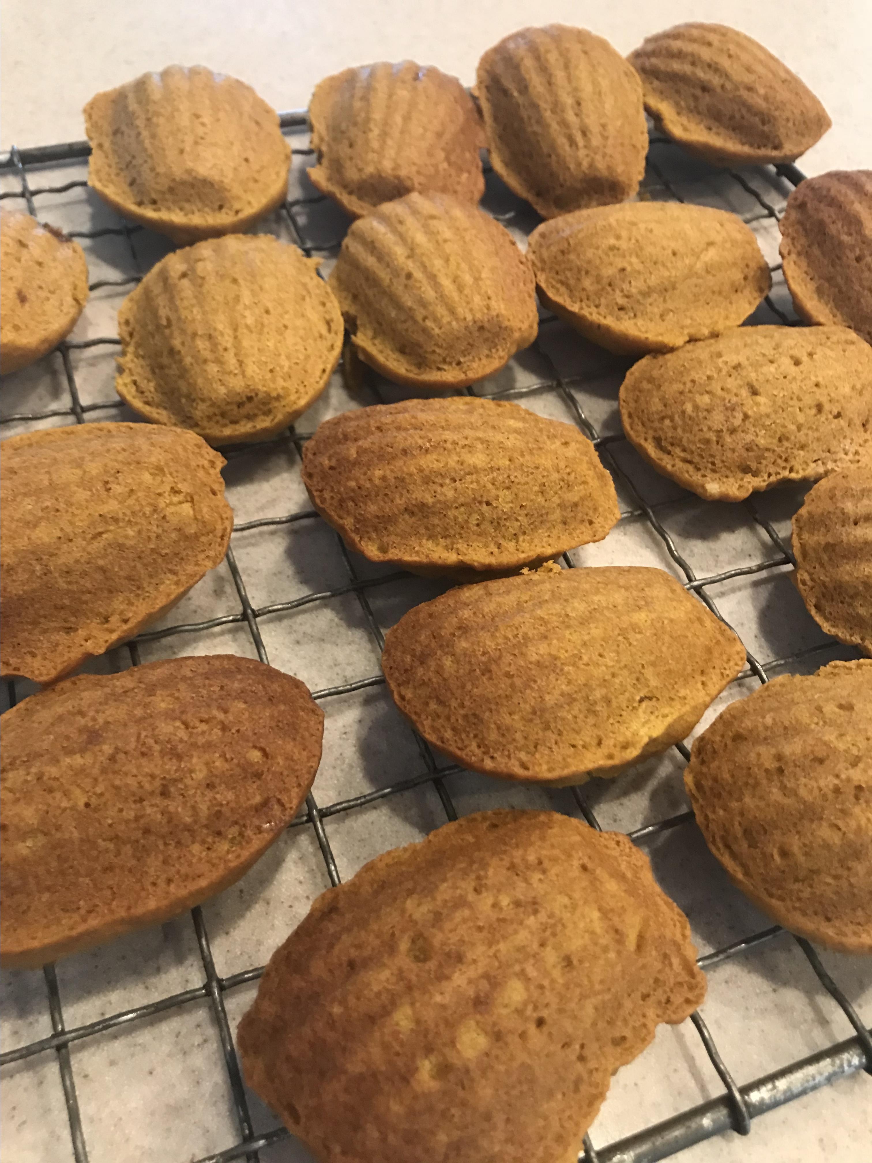 Pumpkin Almond Mini Muffins Jorji