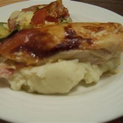 Moist Garlic Roasted Chicken