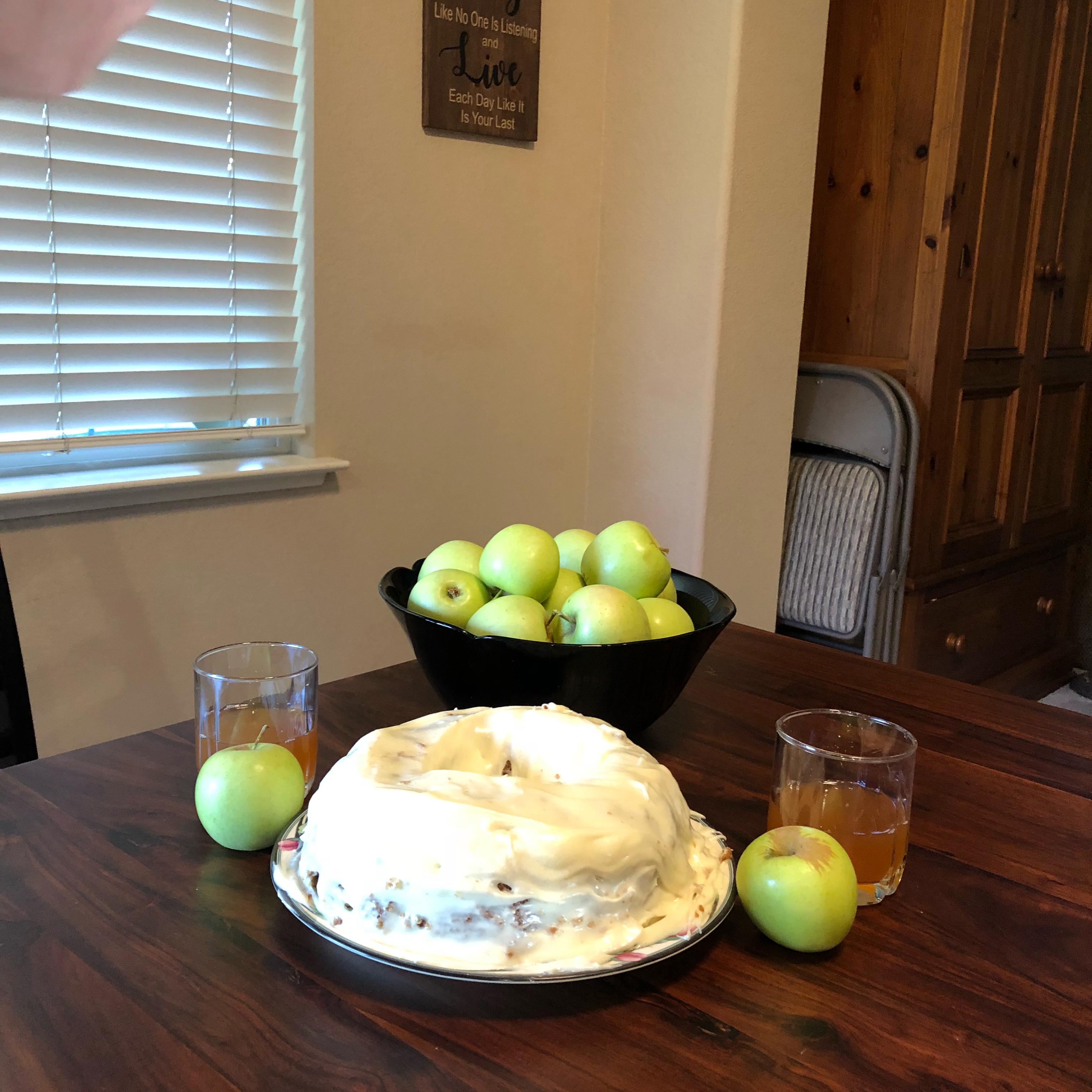 Fresh Apple Cake cookingmama