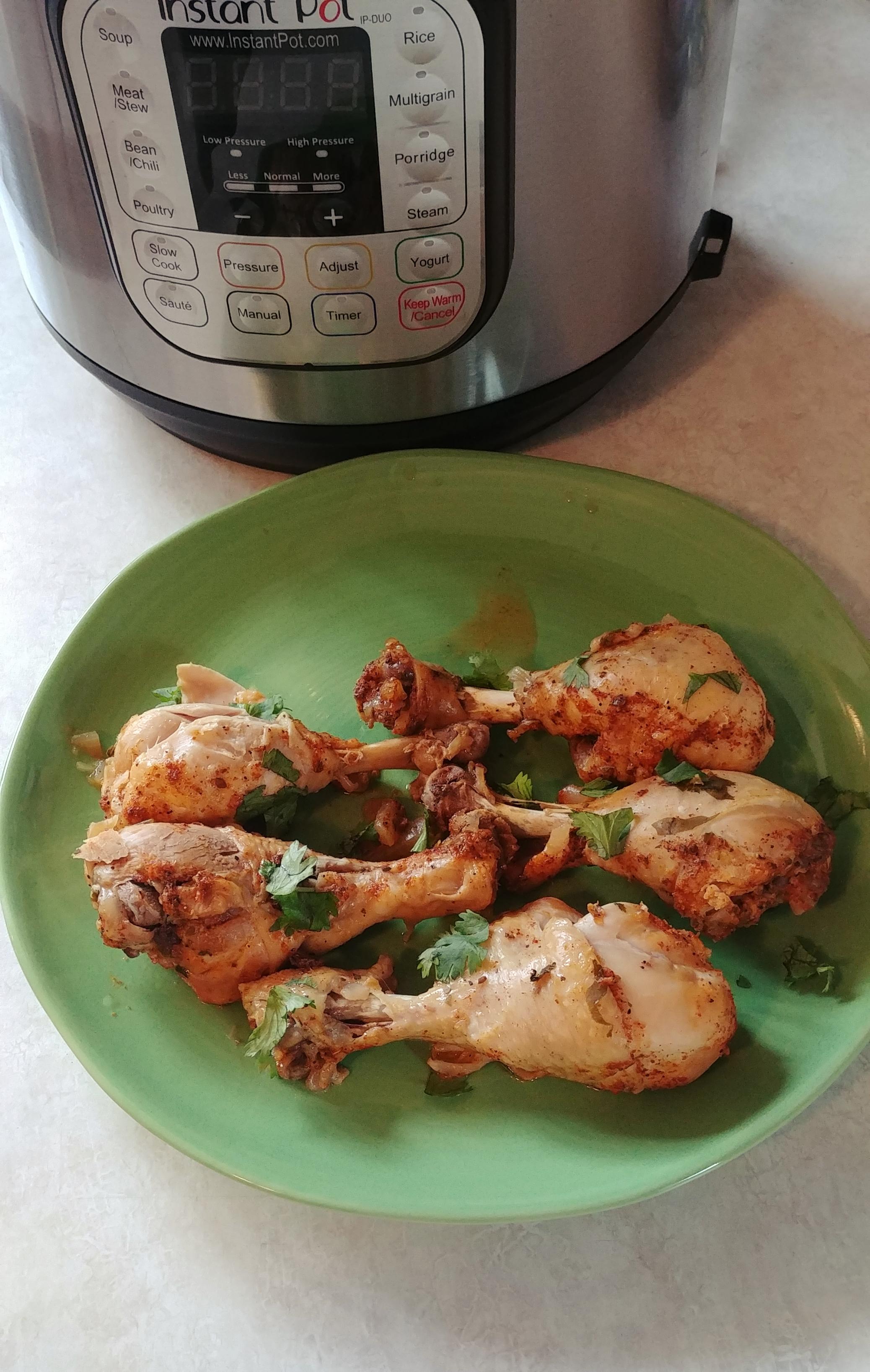 Instant Pot® Chicken Drumsticks Chef Mo