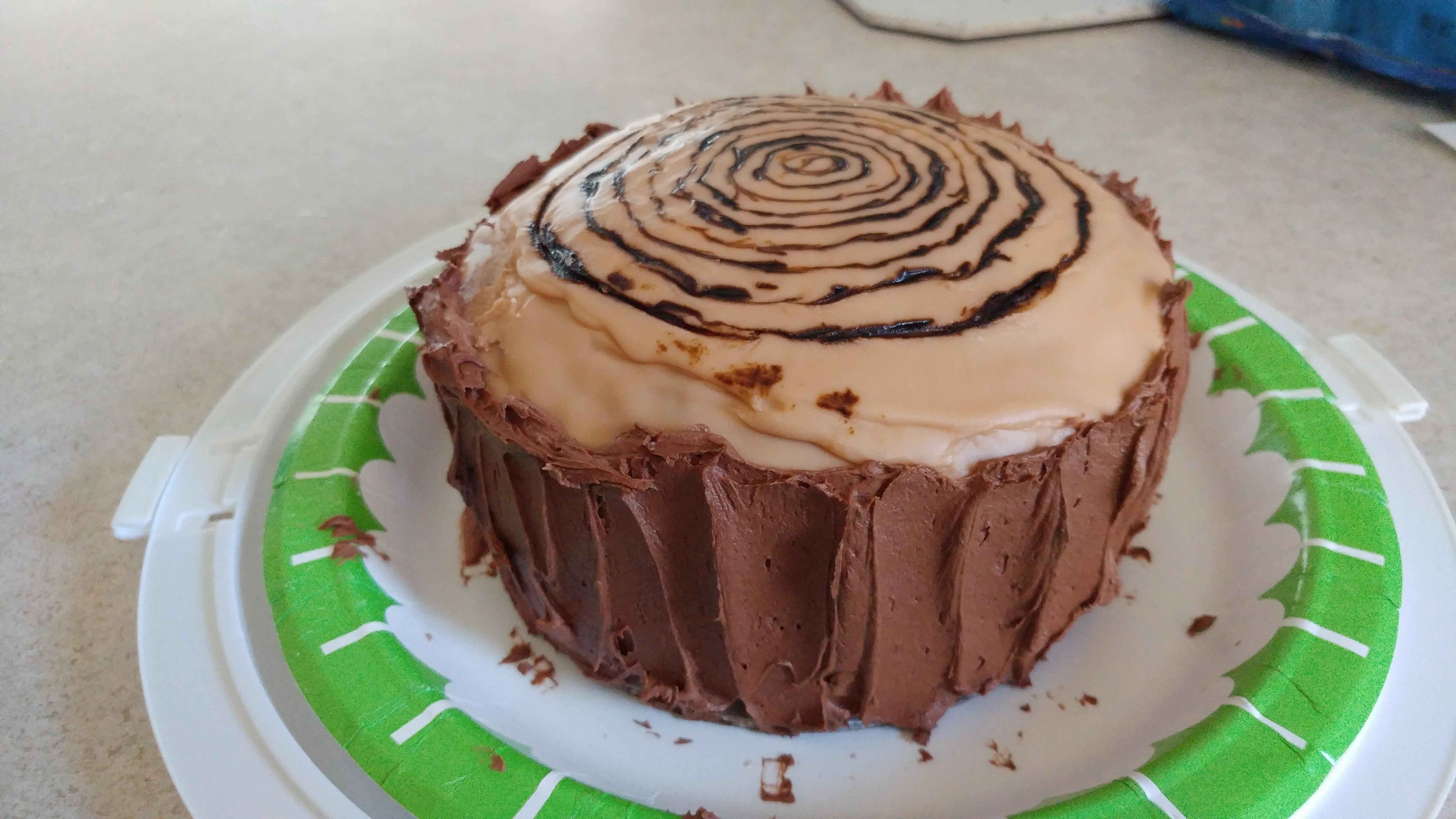 Nutmeg Feather Cake Linda Arvia