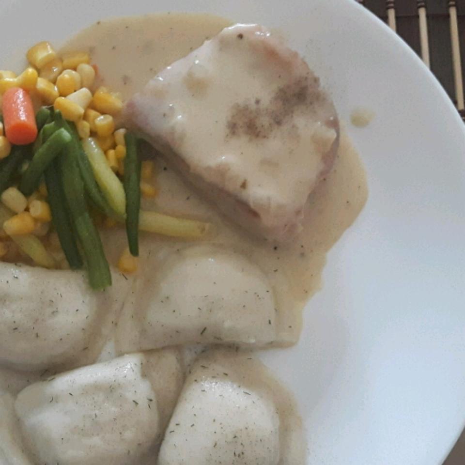 Sour Cream Pork Chops Ghost