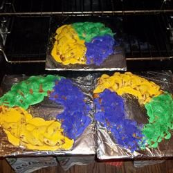 Super Easy Mardi Gras King Cake