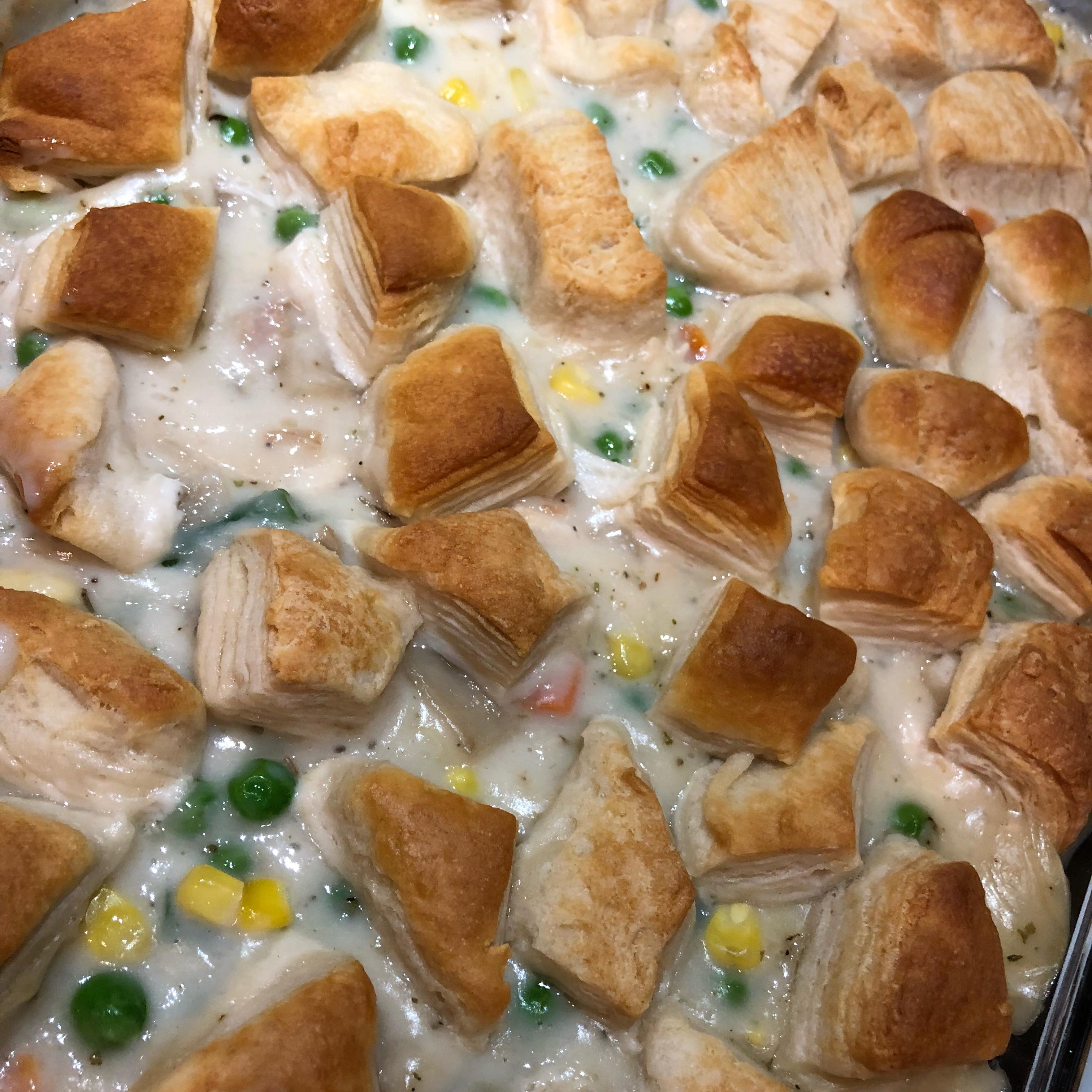 Chicken Pot Pie Bubble Bake Eun Ji Park