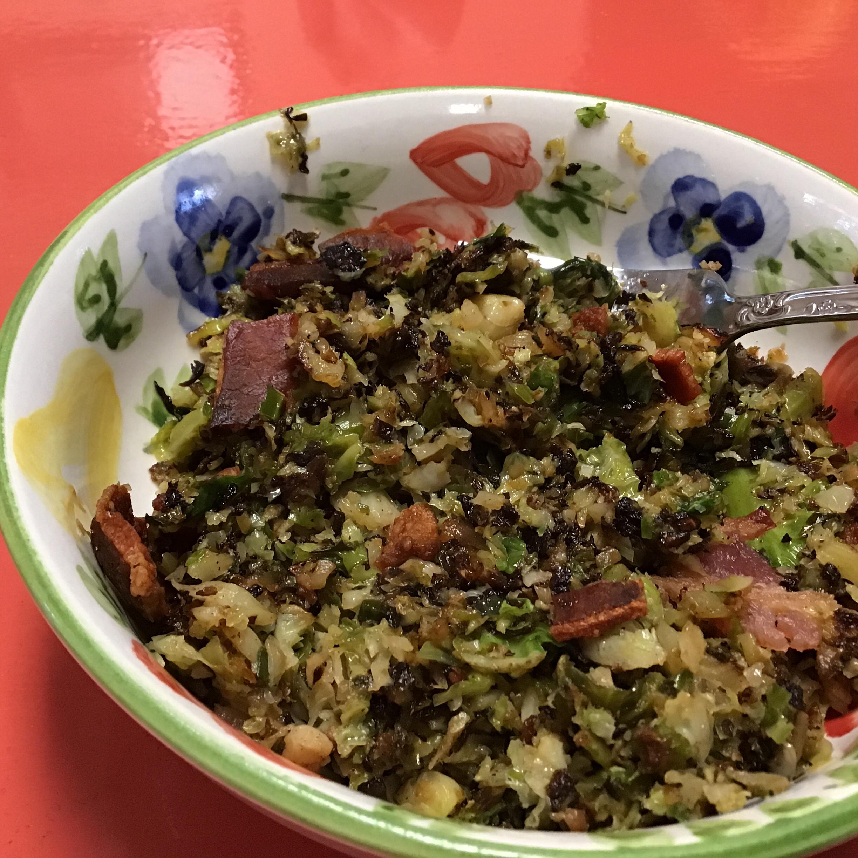 Shredded Brussels Sprouts Cathy Broyles Cuellar