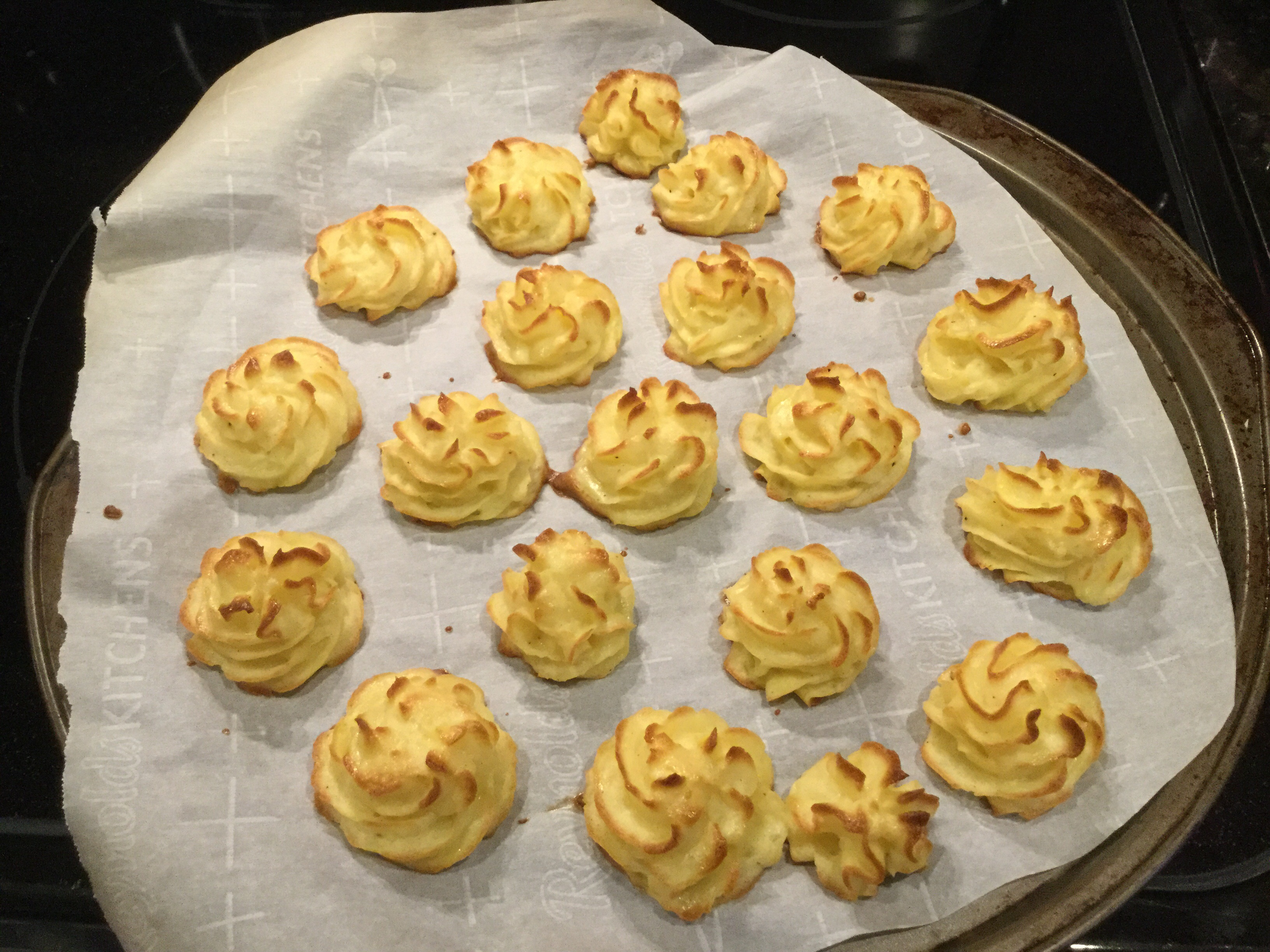 Duchess Potatoes Michelle Haywood