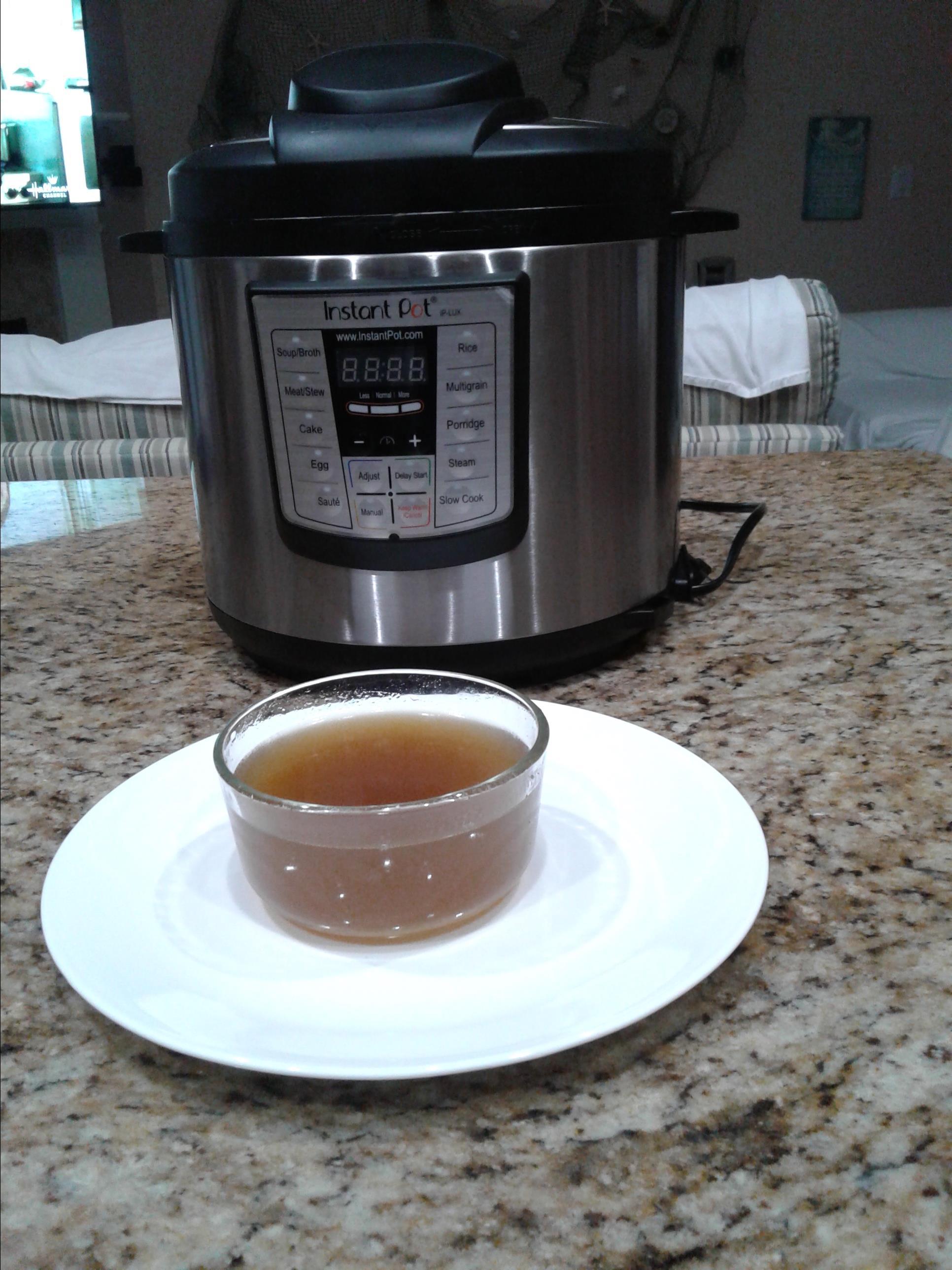 Instant Pot® Chicken Broth Tracey Ferrari Posner