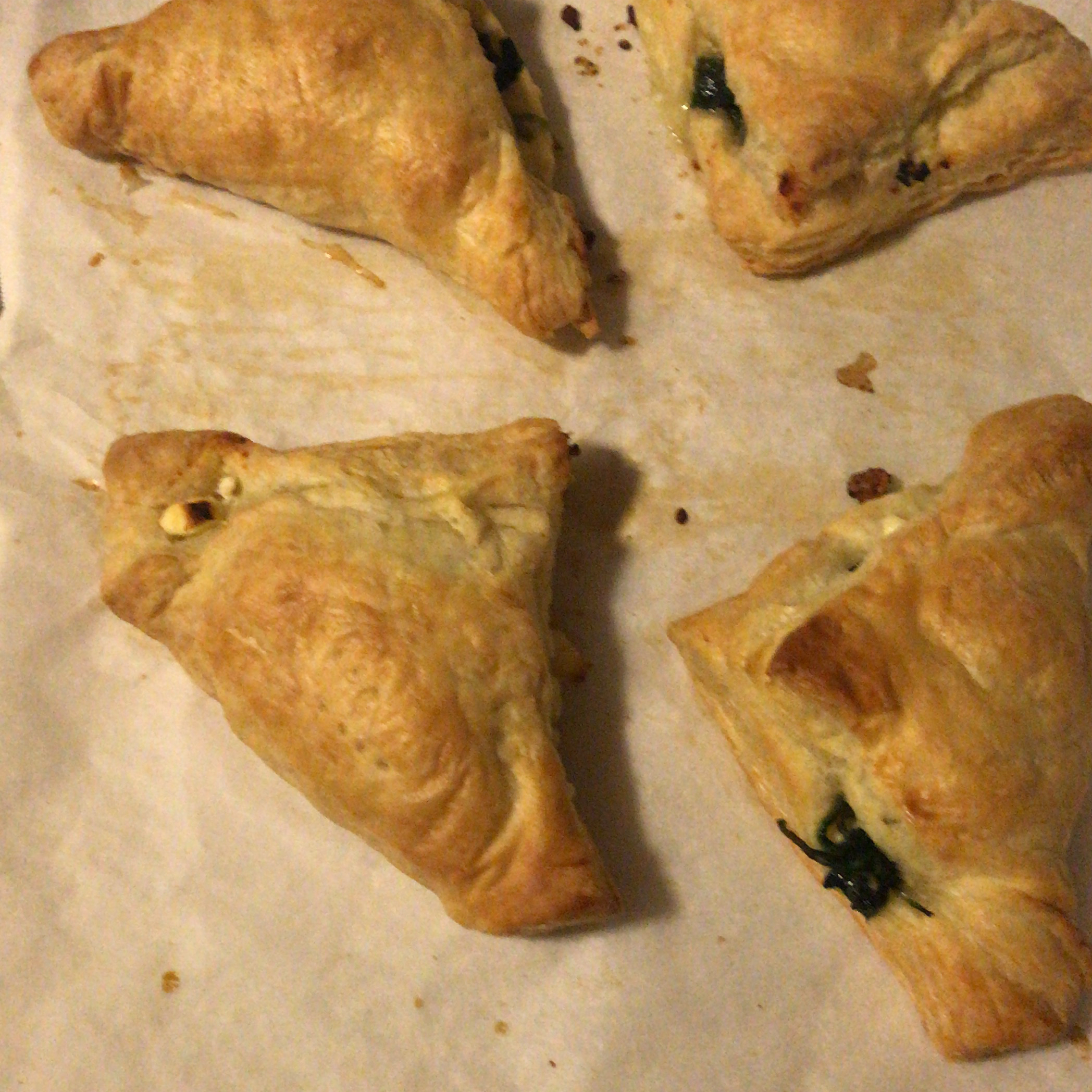 Spinach Rolls with Puff Pastry kac52