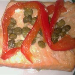 Bell Pepper and Lemon Salmon VIVIANRAQUEL