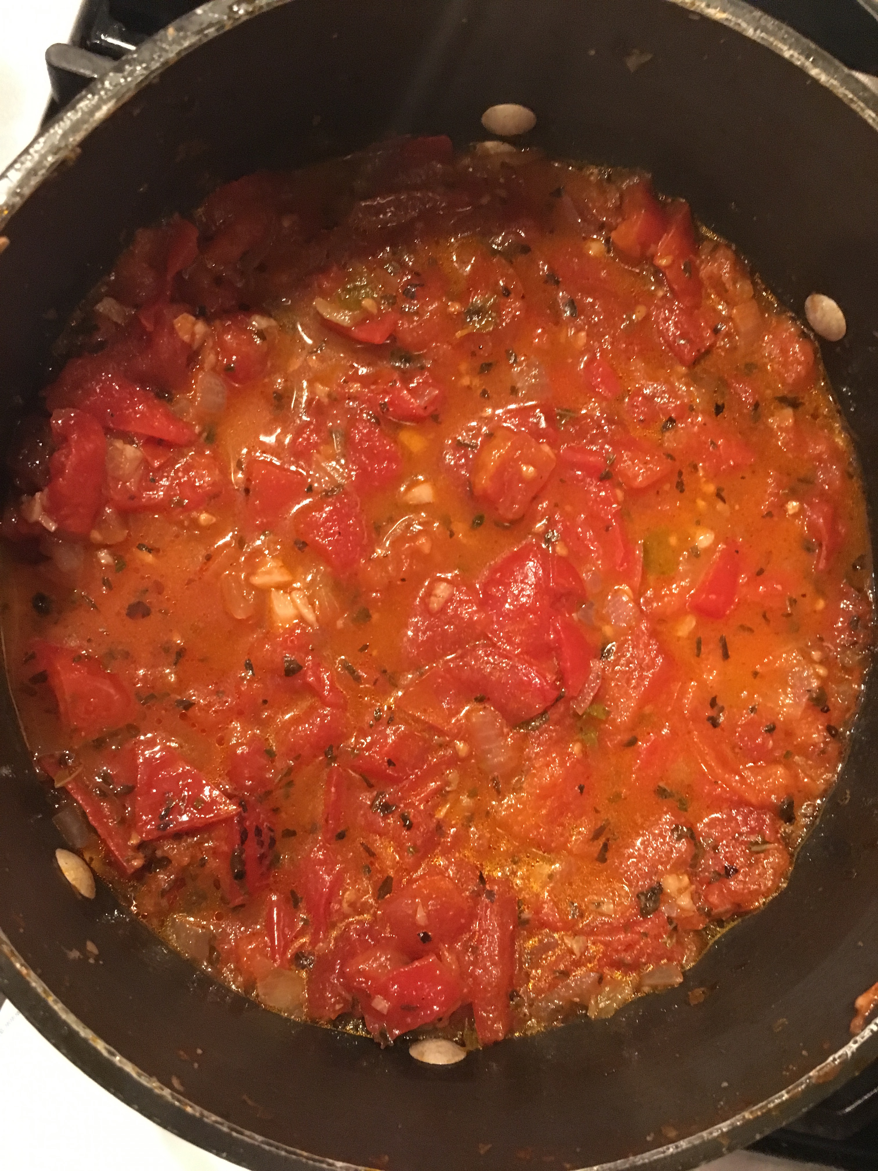 Fresh Tomato Marinara Sauce CookingIsArt