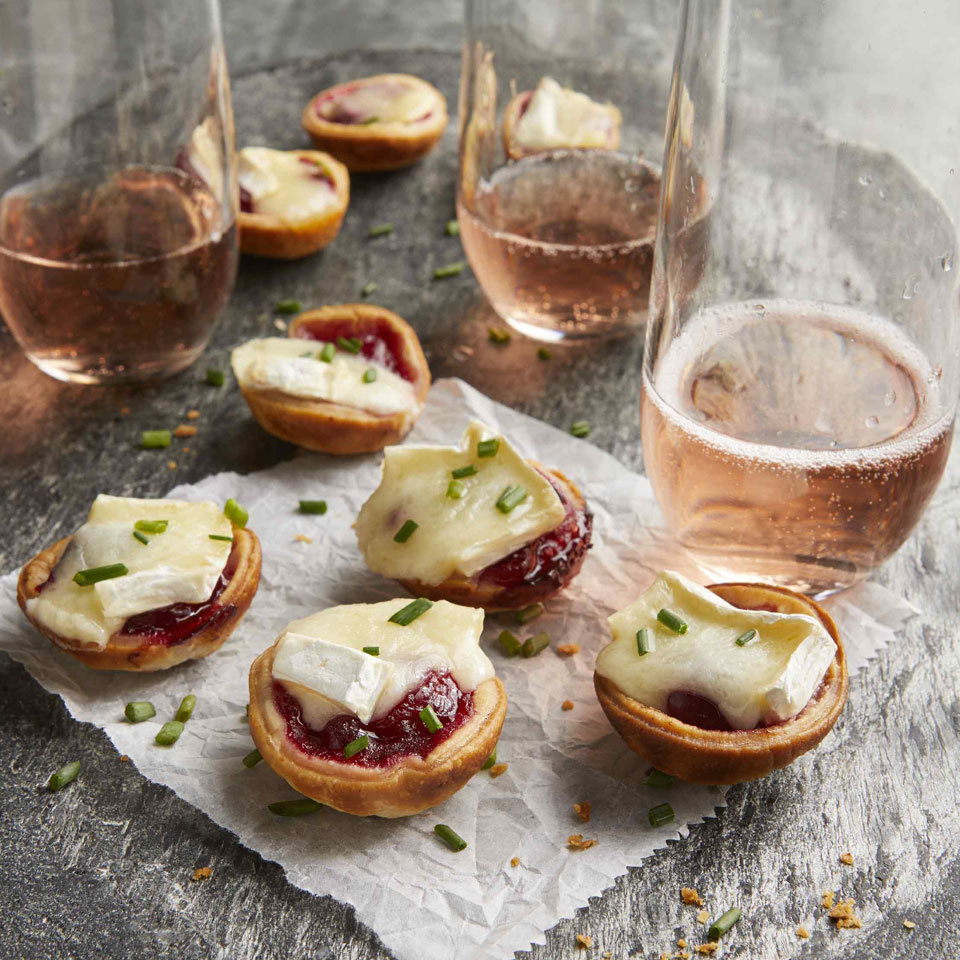 3-Ingredient Cranberry-Brie Bites Trusted Brands