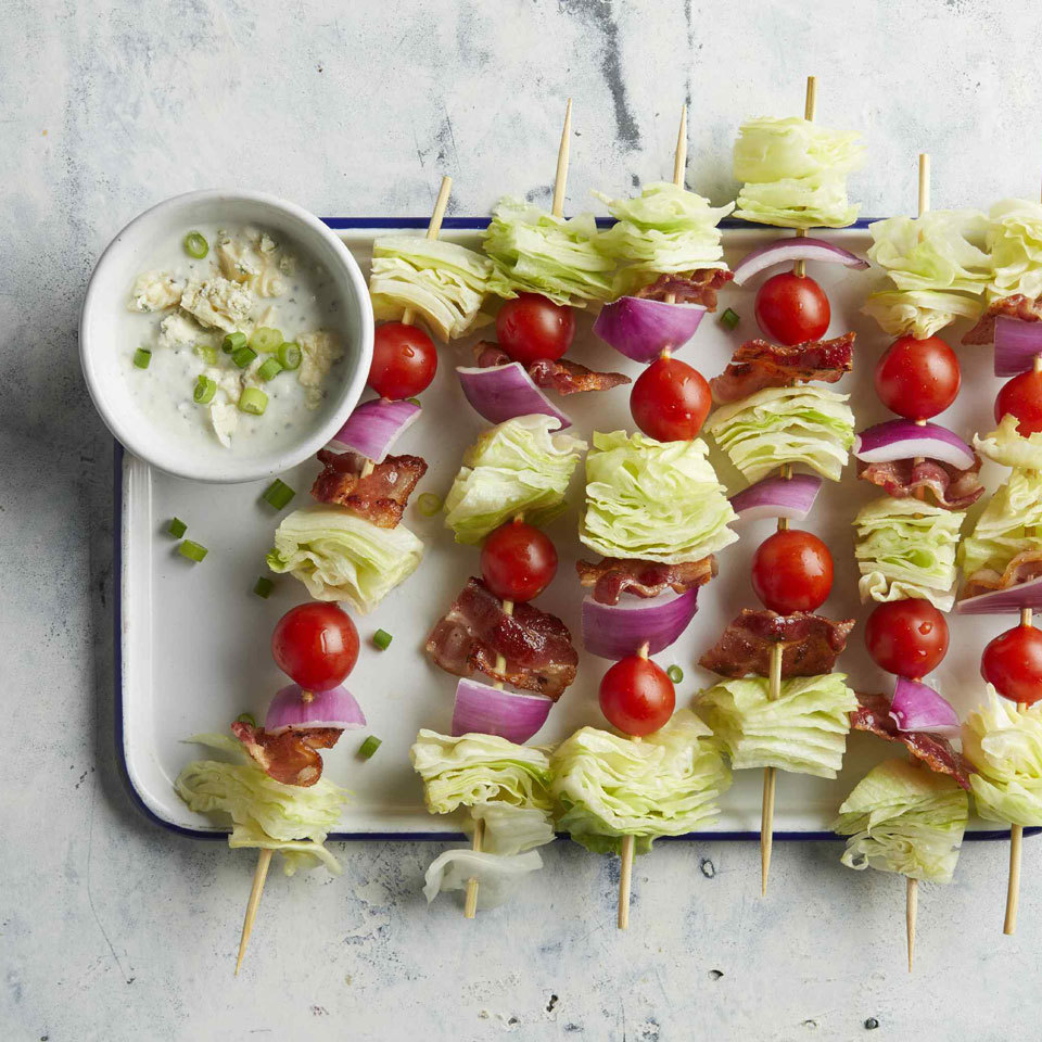 Wedge Salad Skewers Trusted Brands