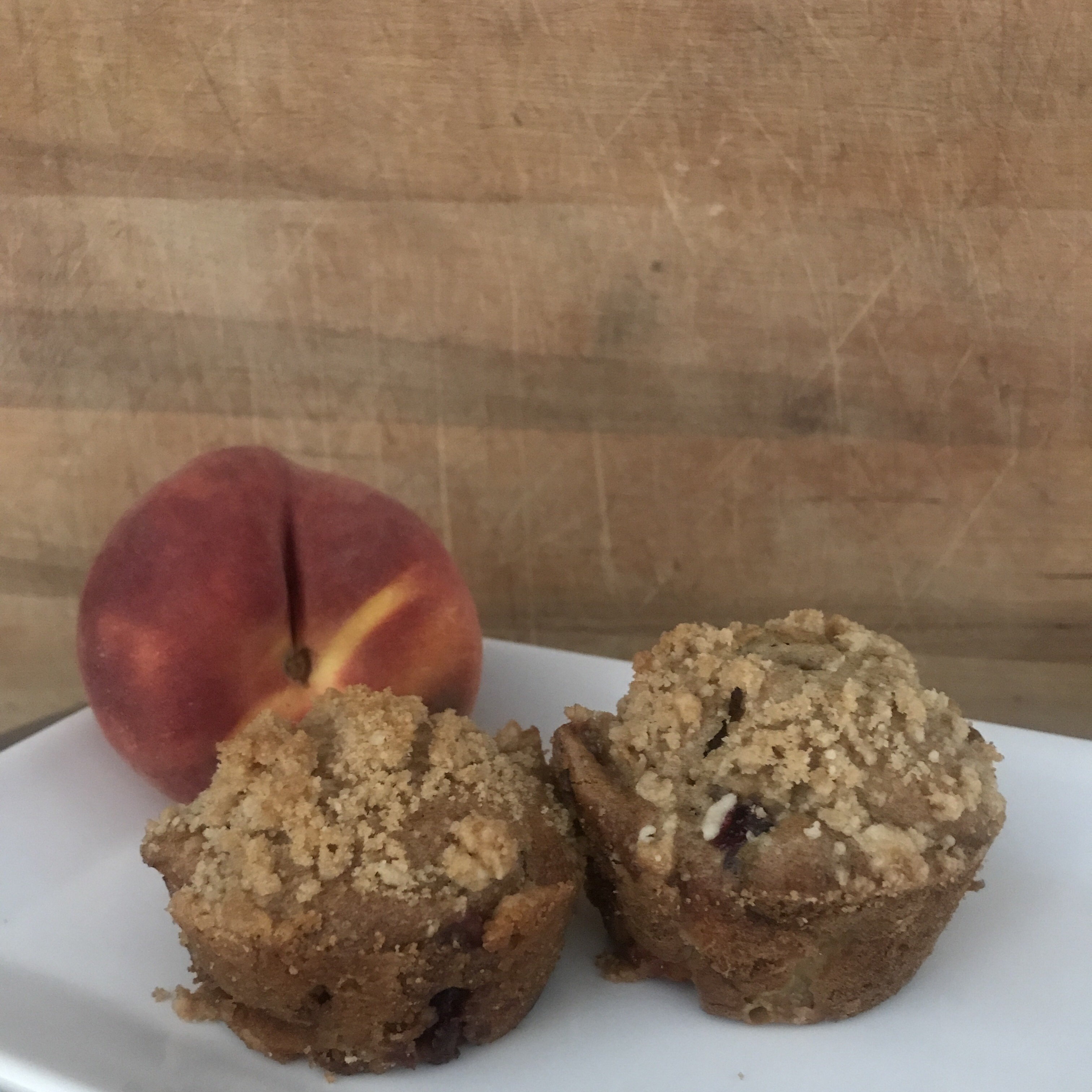 Peach Cobbler Muffins Cambria_Mae