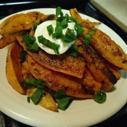 Carolyn's Sweet Potato Fries hungryallweighs