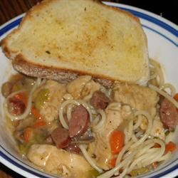 Andouille and Chicken Creole Pasta anja3582