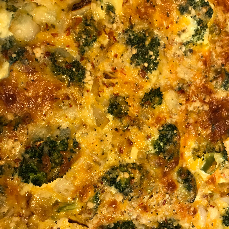 Broccoli Cheddar Pie
