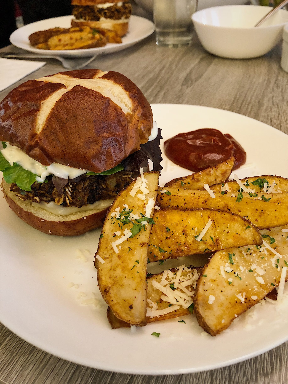 Homemade Black Bean Veggie Burgers