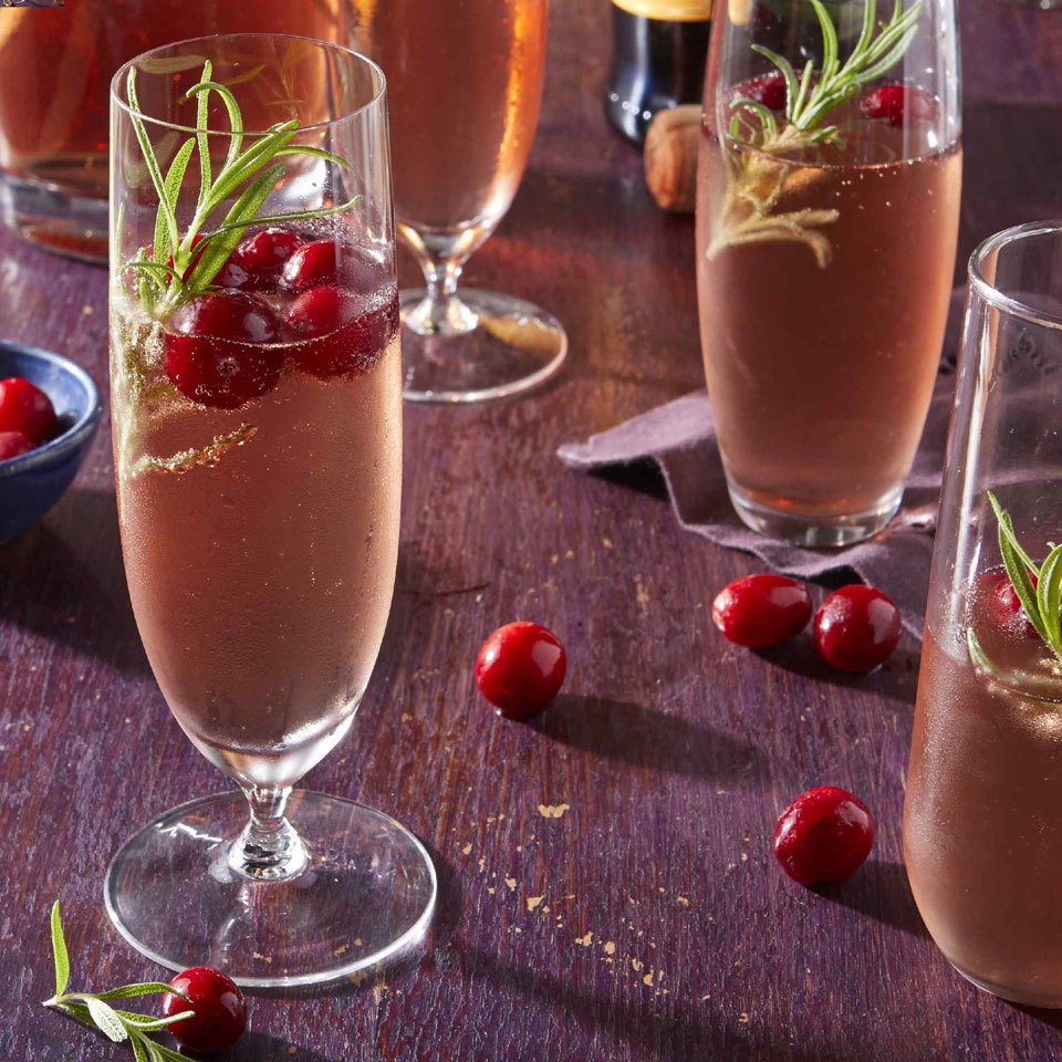Cranberry-Prosecco Cocktail Carolyn Casner