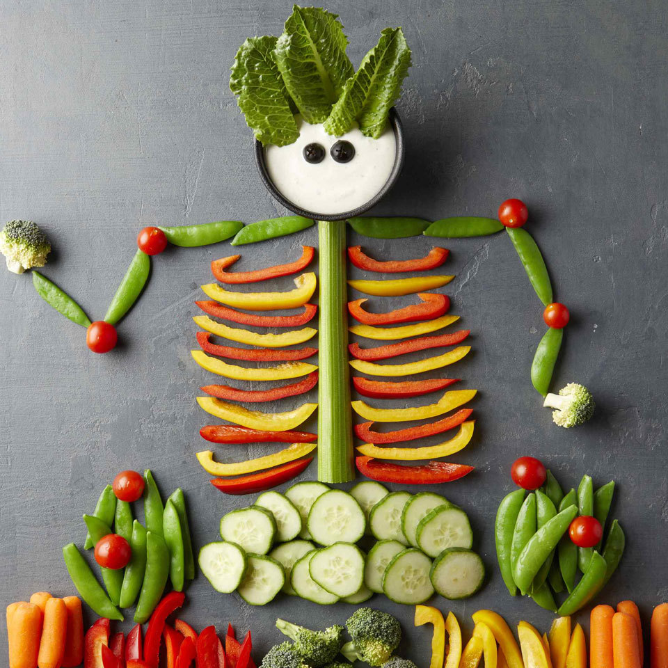 Halloween Veggie Tray Trusted Brands
