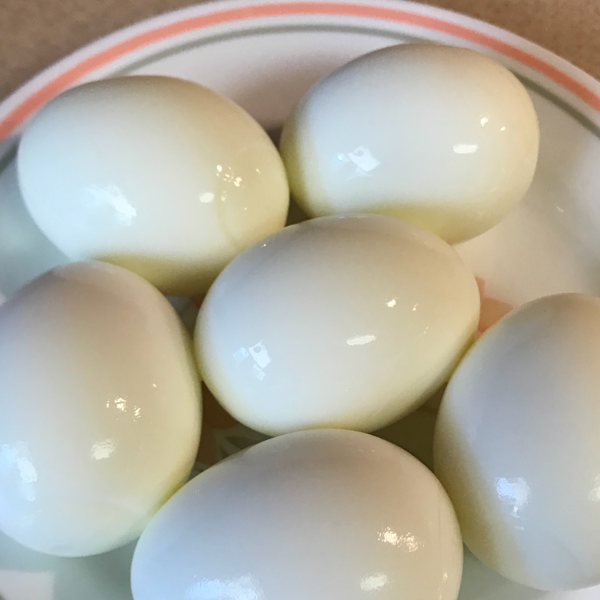 Soft Hard-Boiled Eggs kellynoel