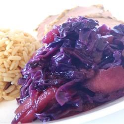 Red Cabbage and Apples Alberta Rose