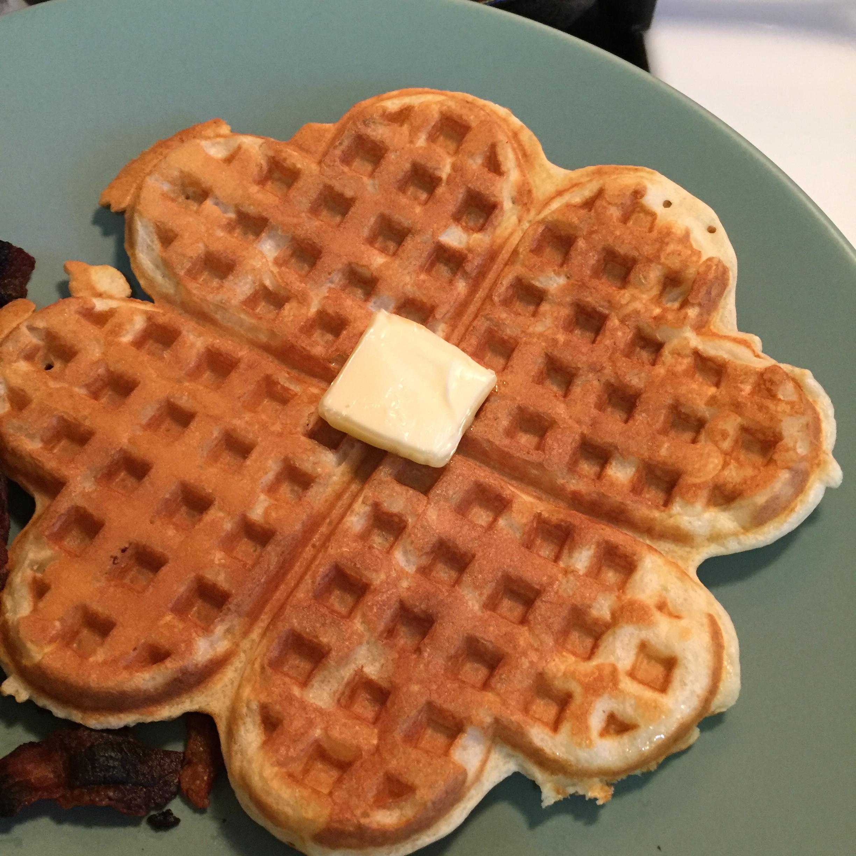 Buttermilk Waffles Peach