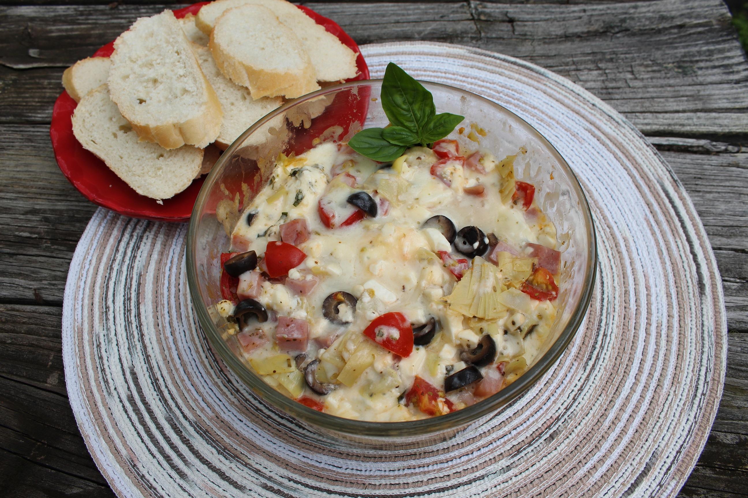 Instant Pot® Mediterranean Pizza Dip