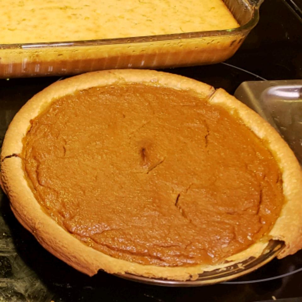 Creamy Pumpkin Pie with Ricotta Cheese W.C. Jones