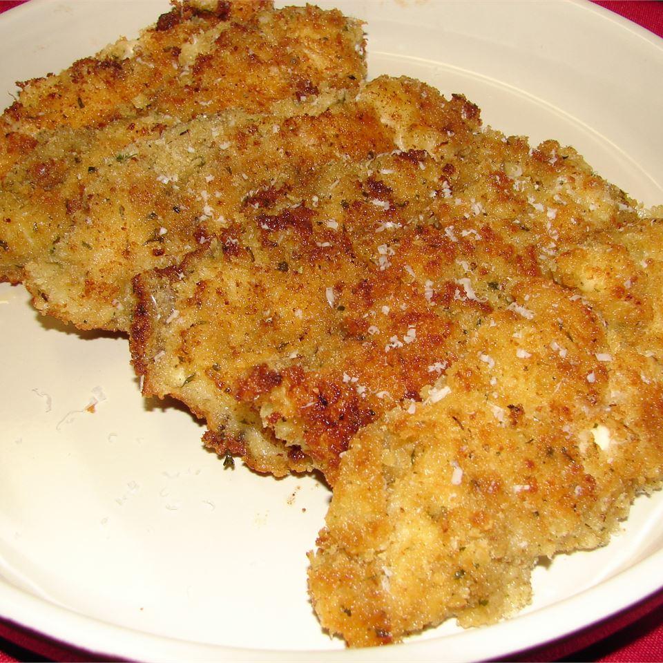 Breaded Parmesan Chicken GodivaGirl